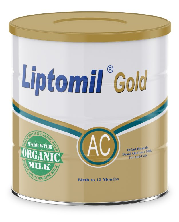 Liptomil Gold Ac Reduced Lactose Anti Colic Formula